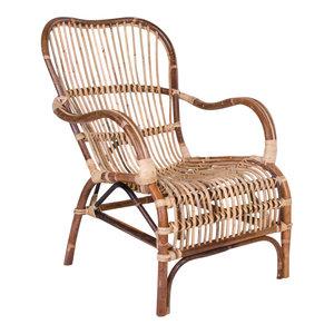 Meubelen-Online - Fauteuil Bari rotan stoel
