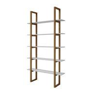 meubelen online boekenkast store eiken met witte planken