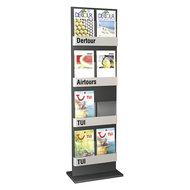 Kerkmann - Folderhouder Info staande vloer display dubbel