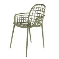 Meubelen-Online - Tuinstoel Albert Kuip groen aluminium merk Zuiver