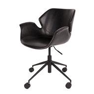 Meubelen-Online - Bureaustoel Nikki zwart design merk Zuiver