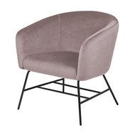 Meubelen-Online - Fauteuil Oliver stof rose design